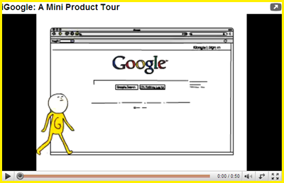 Watch iGoogle Product Video